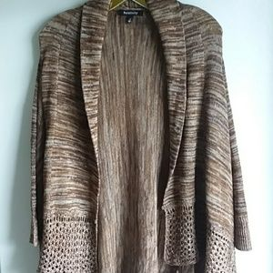 Large Open Front Tunic Open Front Cardigan Sweater